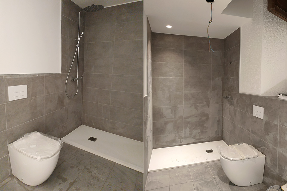Construcción y reforma de baños para habitaciones de hotel en Palma de Mallorca