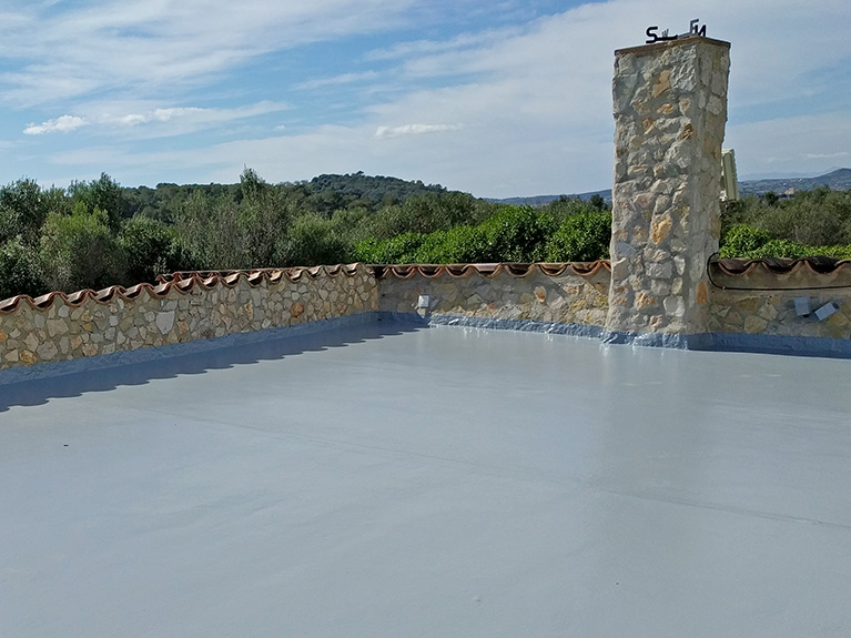 Renovation and insulation of a roof terrace in Son Servera, Mallorca