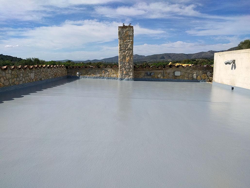 Resultado de reforma y aislamiento de terraza en Son Servera, Mallorca
