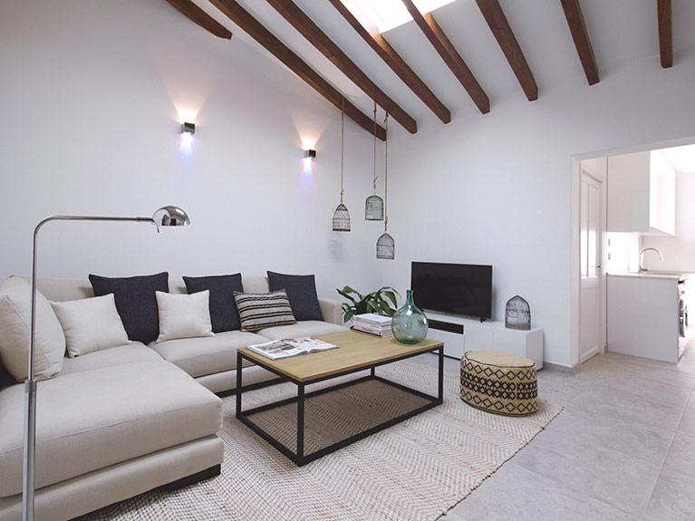 Renovierung Dachgeschosswohnung in Campanet, Mallorca