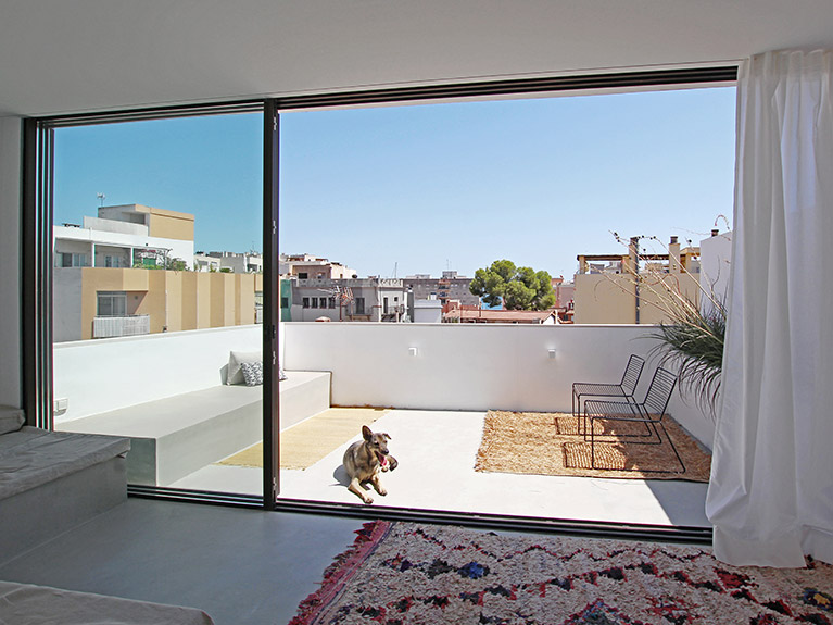 Renovierung Dachgeschosswohnung in El Terreno, Palma de Mallorca